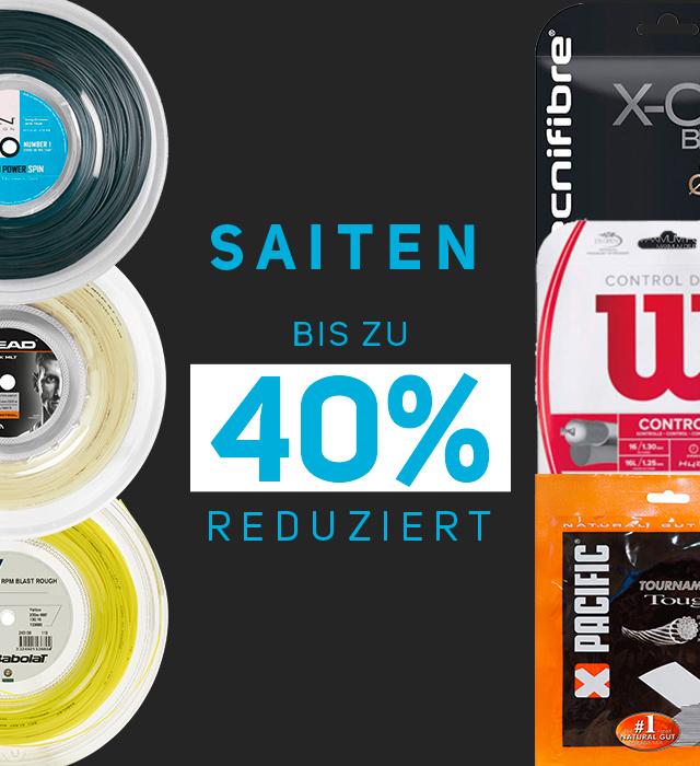 Saiten -40%
