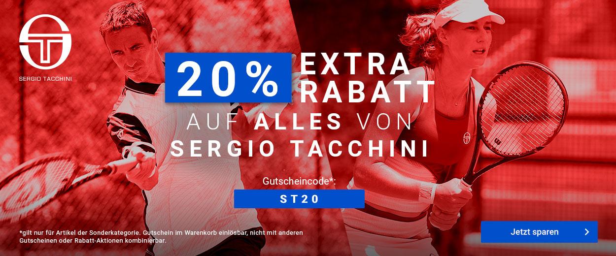 Sergio Tacchini 20%