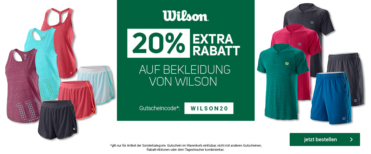 Wilson Bekleidung -20%