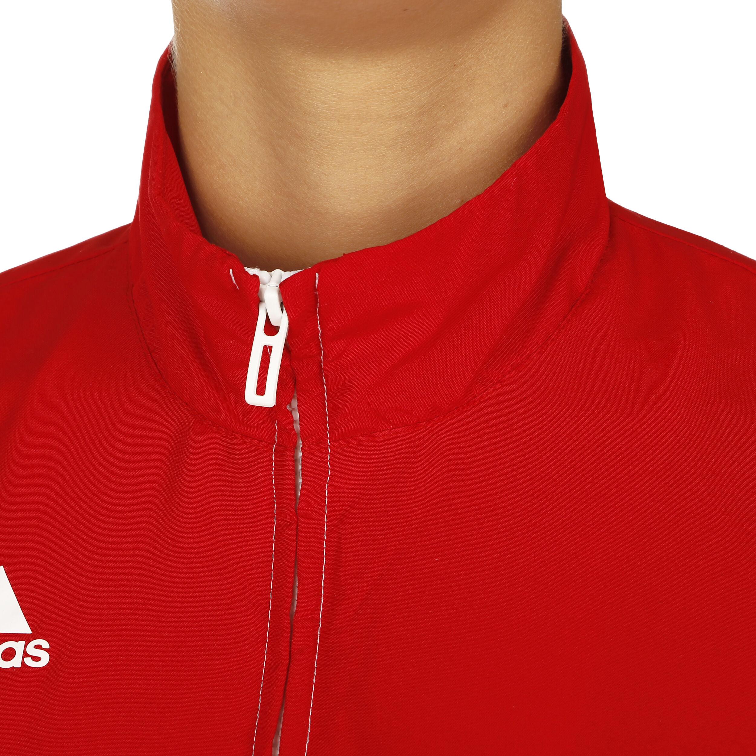 adidas T16 Hoody Trainingsjacke Kinder Rot, Weiß online