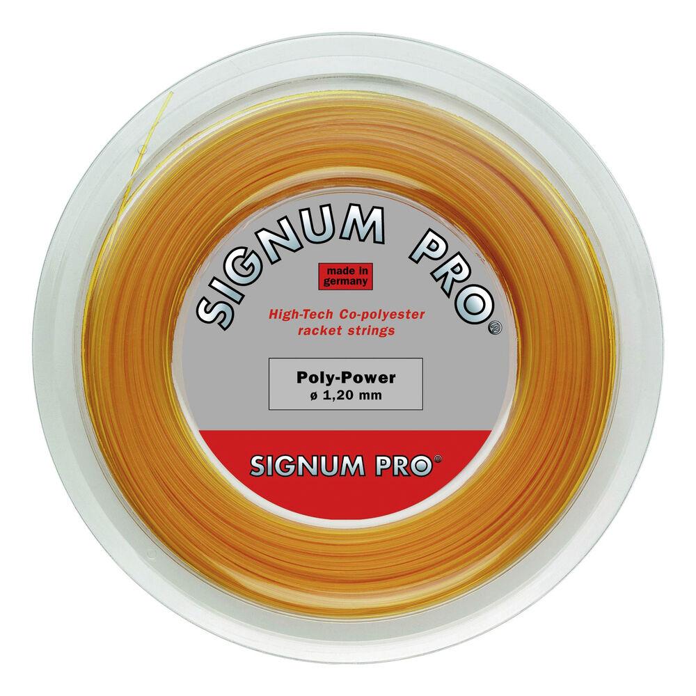 Signum Pro Poly Power Honig Saitenrolle 200m Saitenrolle Größe: 1.20 110222-honig