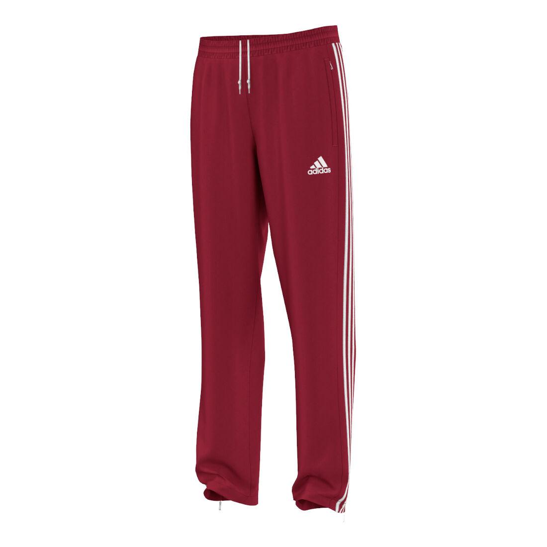 adidas T16 Team Pant Trainingshose Herren Rot, Weiß online
