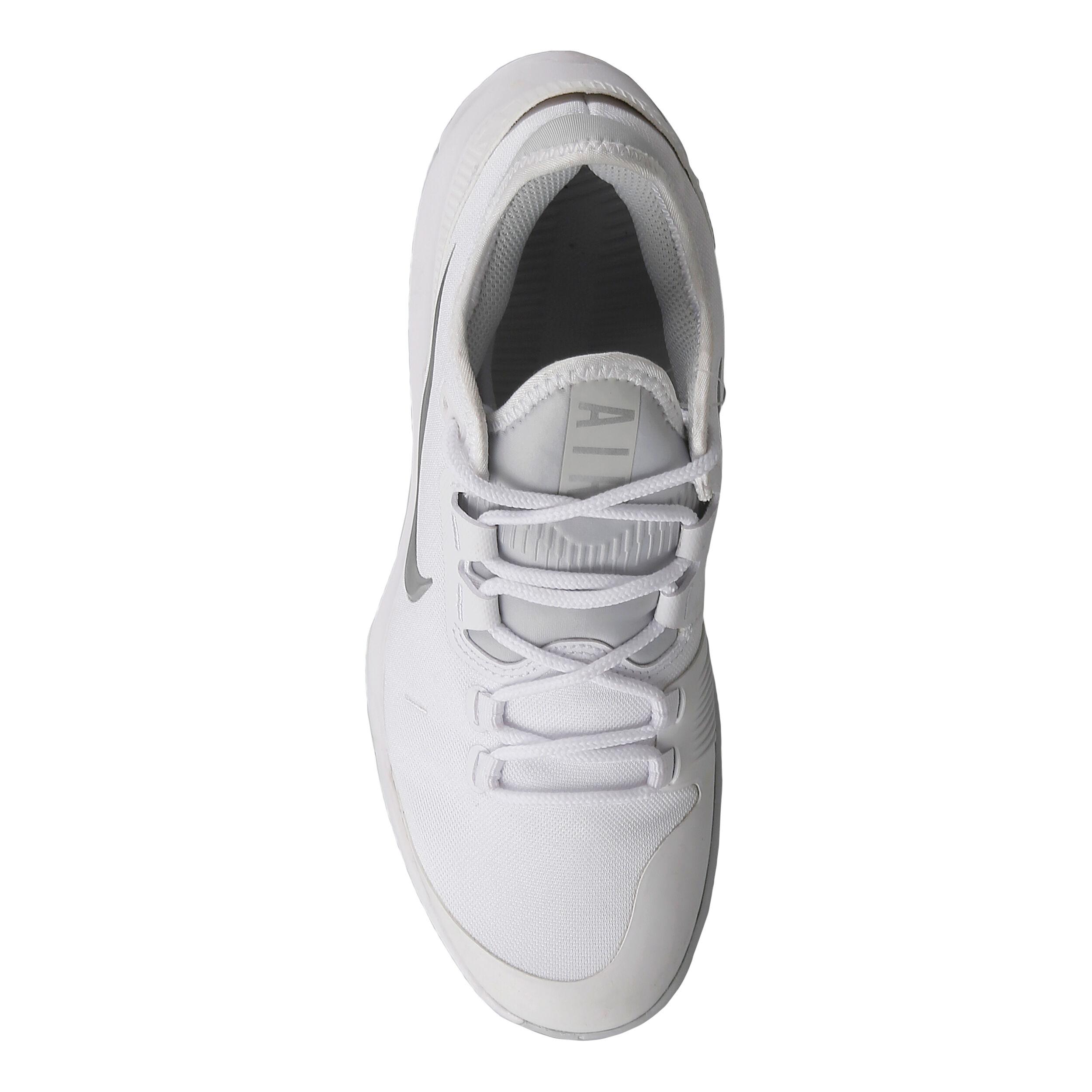 Nike Air Max Wildcard Allcourtschuh Damen Weiß, Silber
