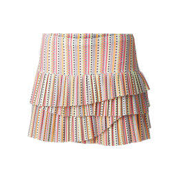 Lit Pleated Scallop Skirt Women