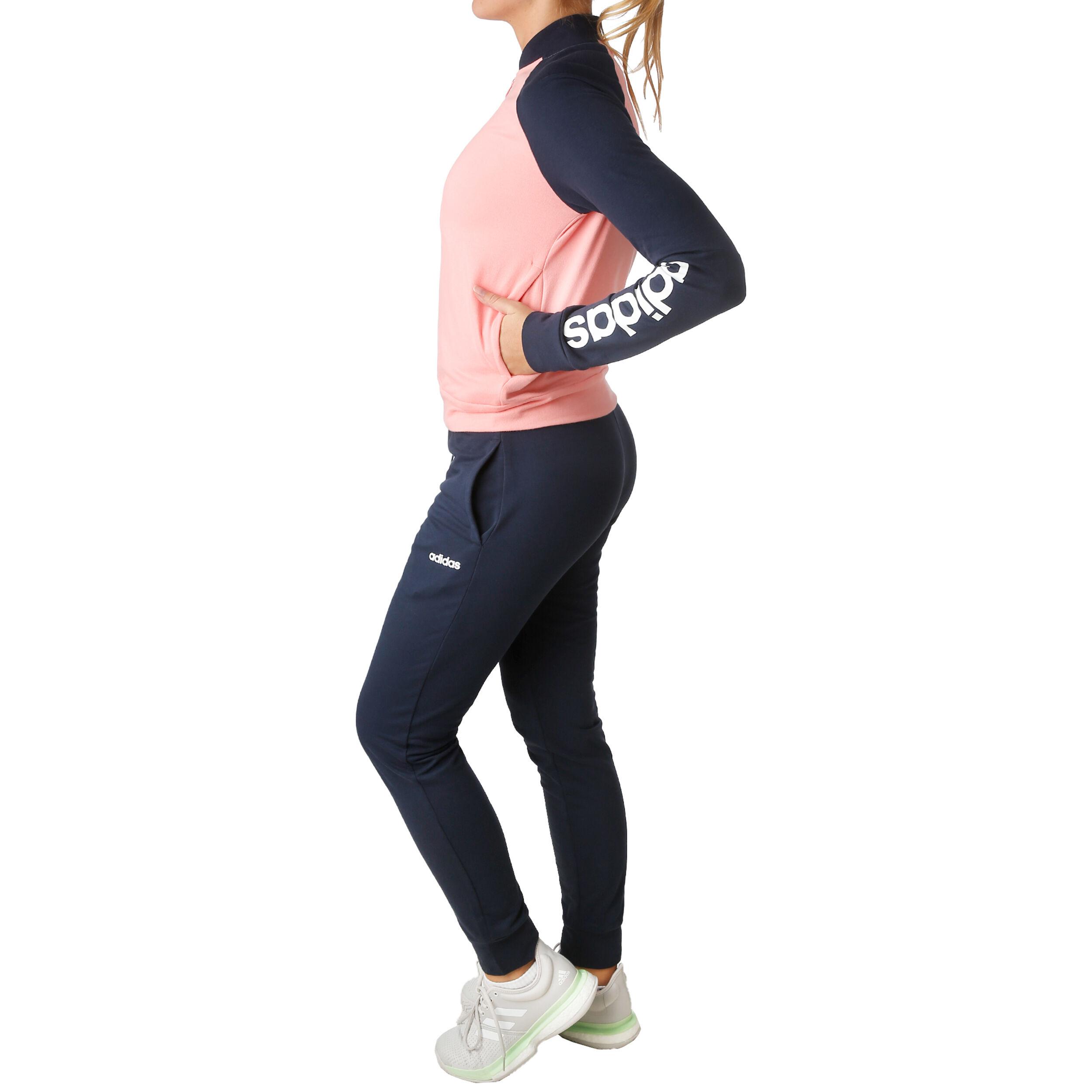 adidas New Cotton Marker Trainingsanzug Damen Rosa