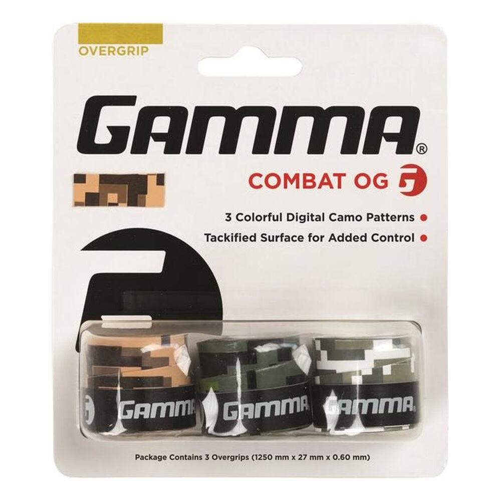 Gamma Combat 3er Pack Tennisovergrip Größe: nosize AGDCO-10