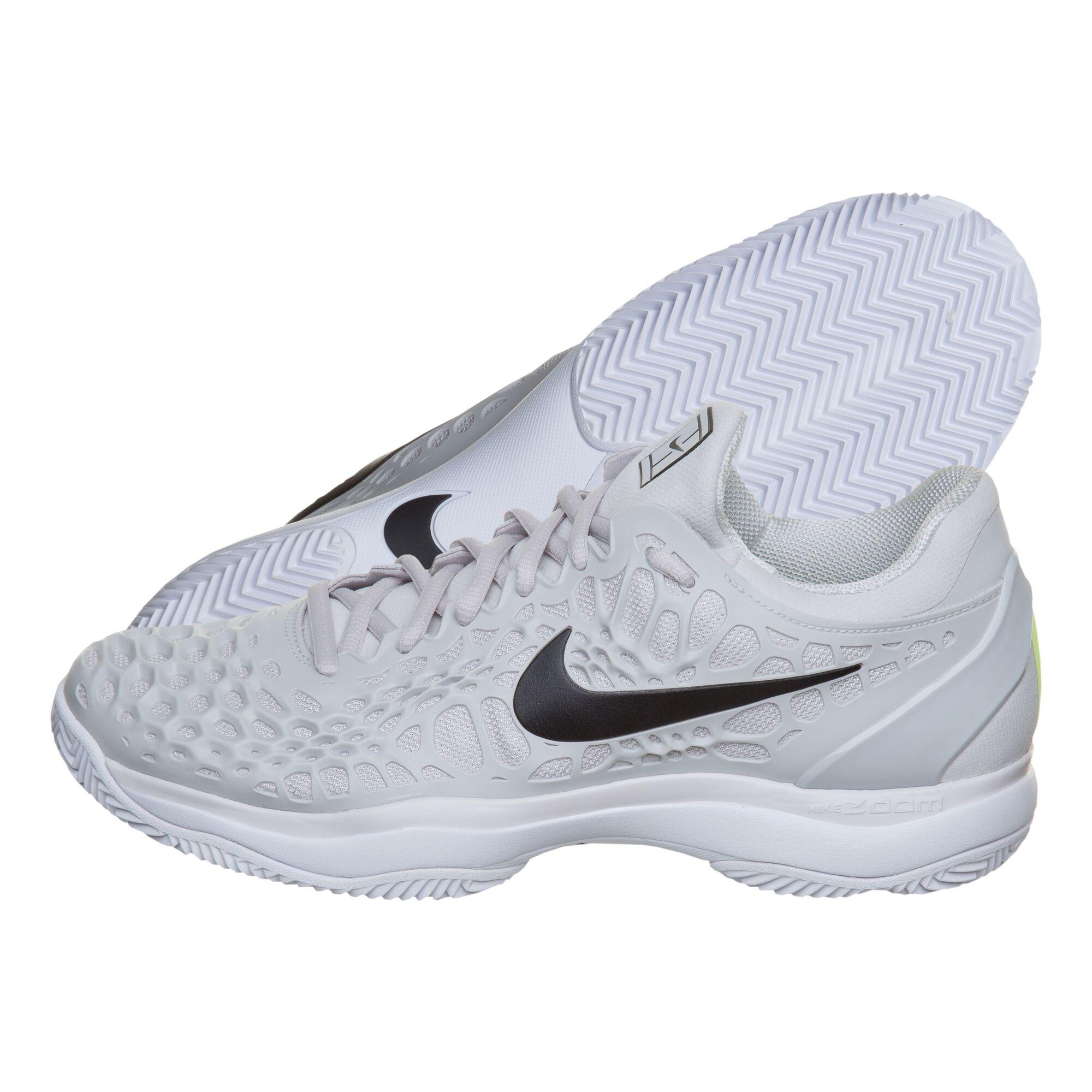 online retailer c2517 e6570 Nike Zoom Cage 3 Clay Sandplatzschuh Herren - Hellgrau, Schwarz ...