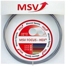 Focus-HEX 12m silber