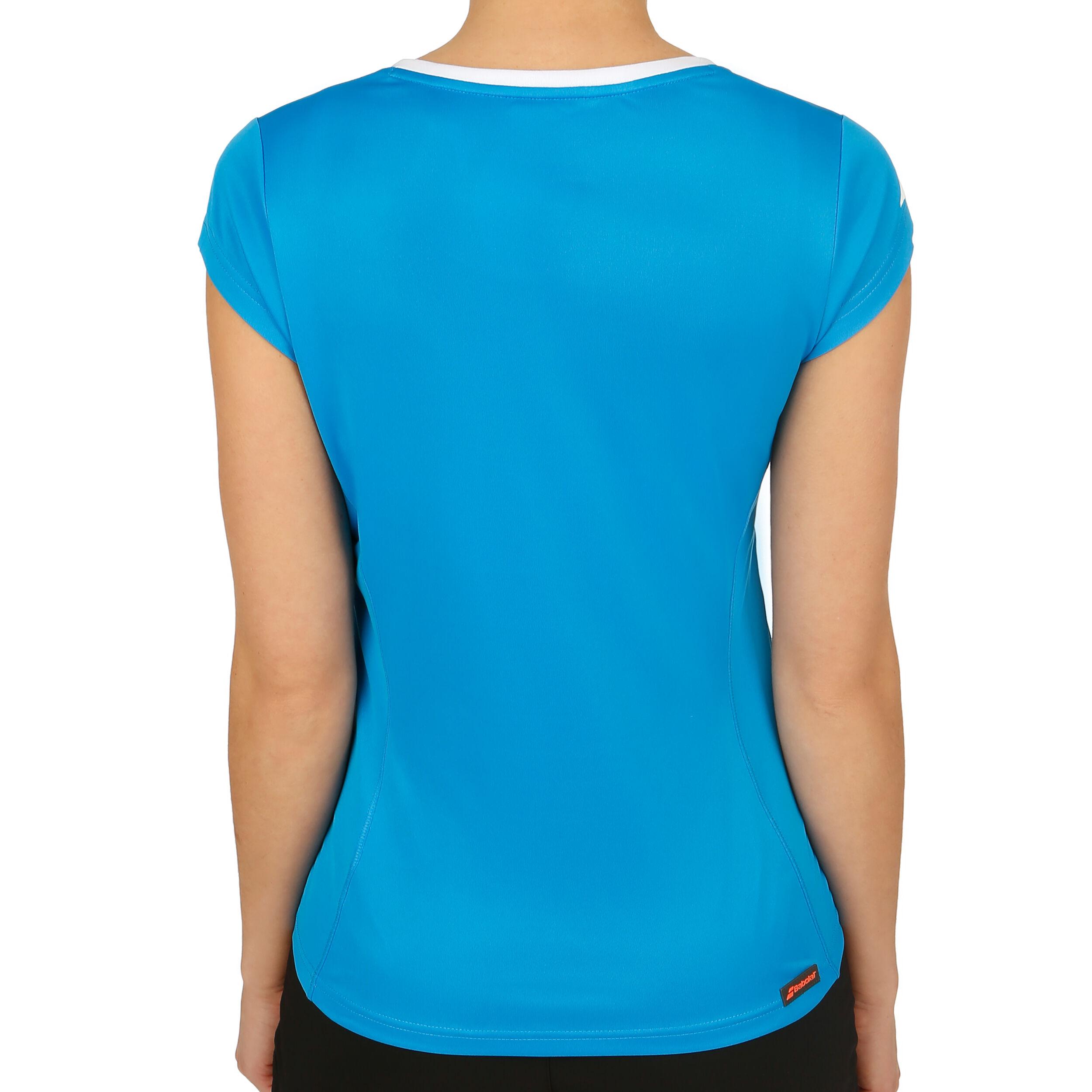 Babolat Core Flag Club T Shirt Damen Blau, Weiß online