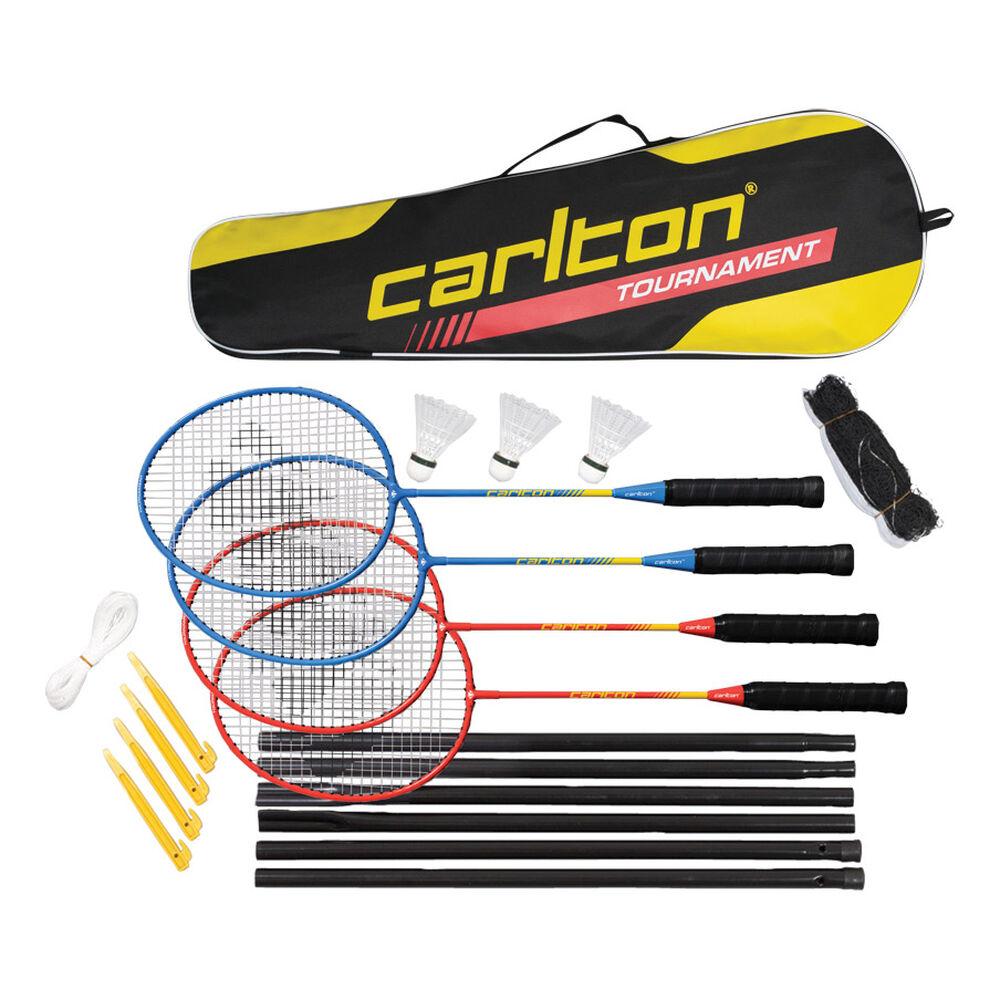Carlton 4 Player Set Badmintonschläger Badmintonschläger Größe: nosize 113465