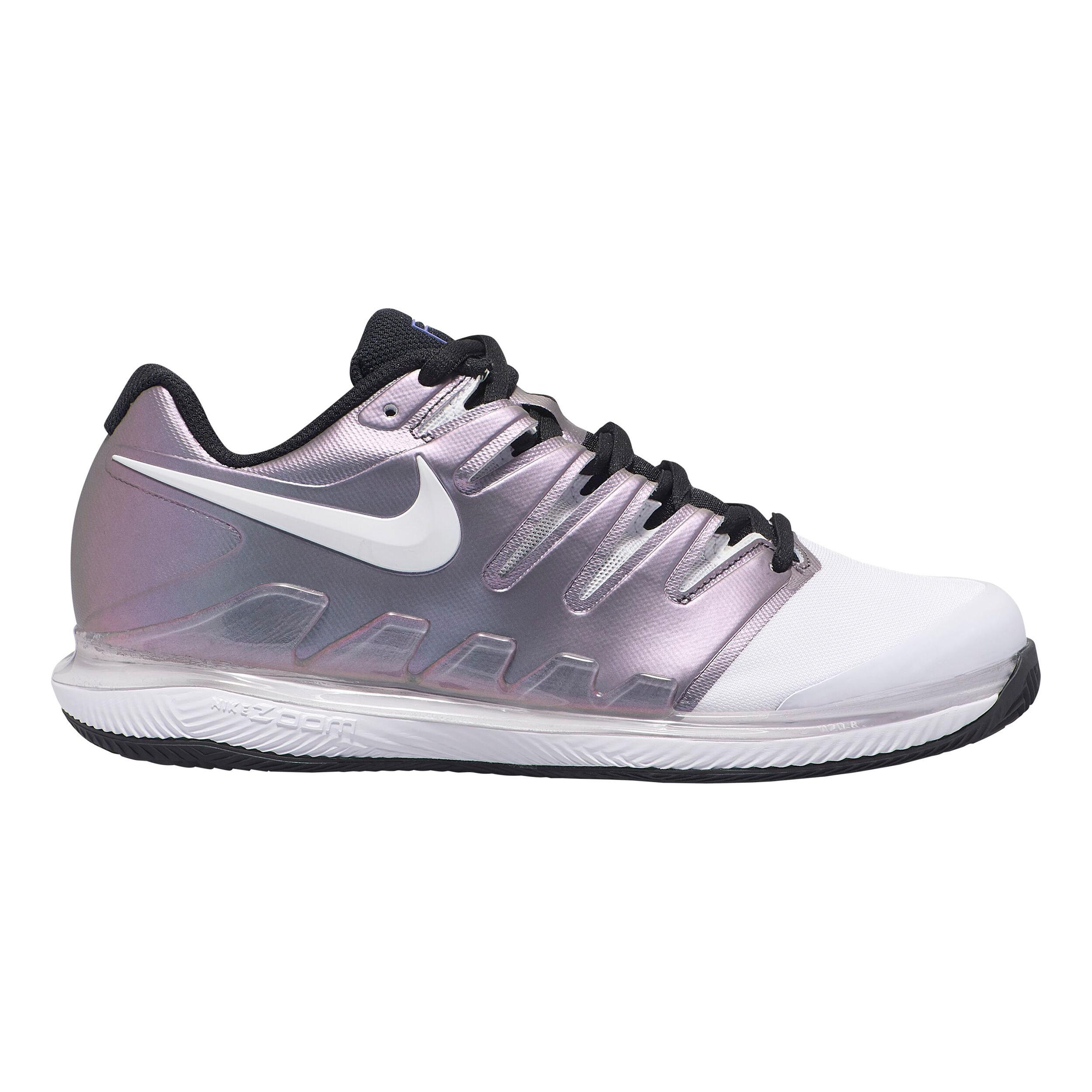 Nike Air Zoom Vapor X Clay Sandplatzschuh Damen Flieder, Weiß