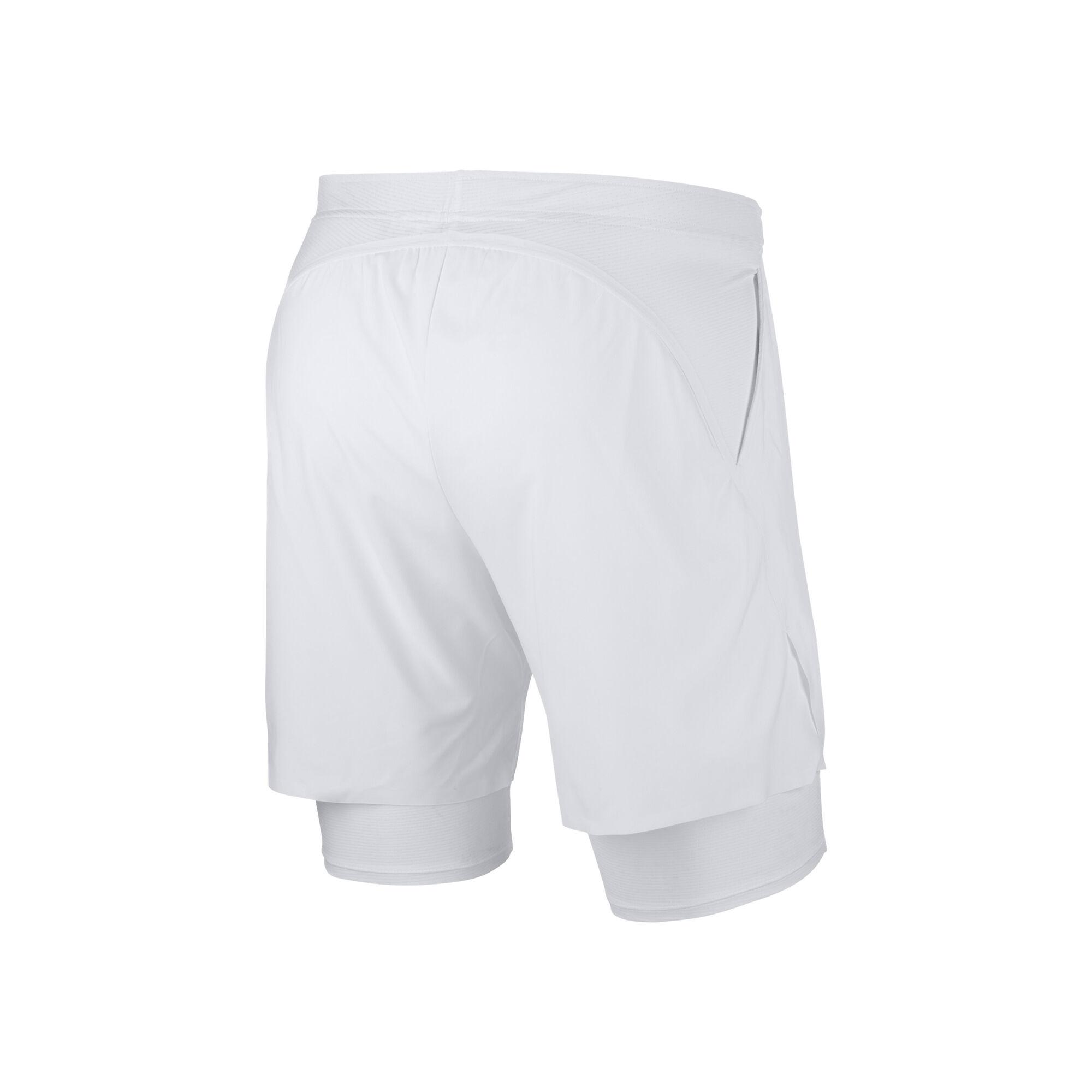50% off coupon codes order Nike Court Flex Shorts Herren - Weiß, Schwarz online kaufen ...