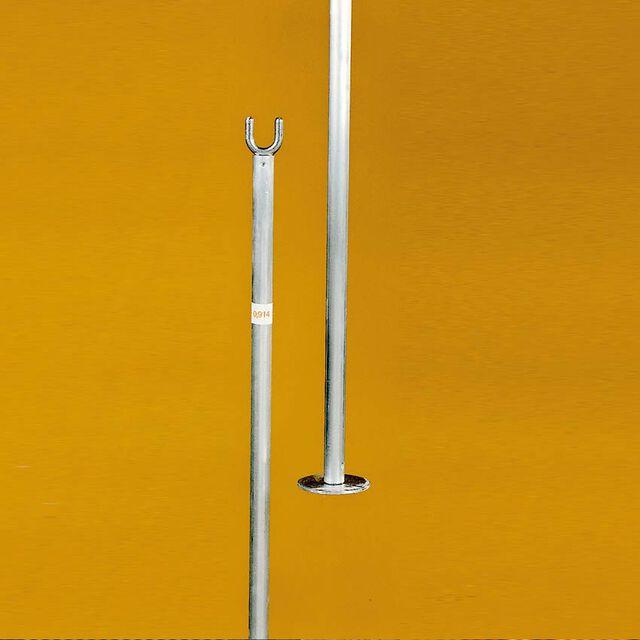 Single-Stangen aus Aluminium