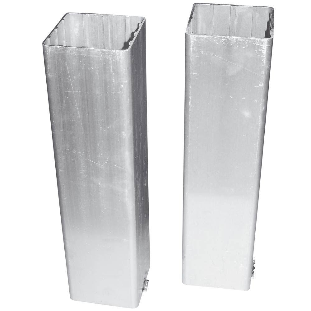 Tegra Bodenhülsen Im Doppelpack, Vierkant Bodenhülsen Größe: nosize 320210