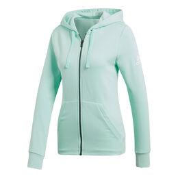 Essentials Solid Full-Zip Hoodie Women