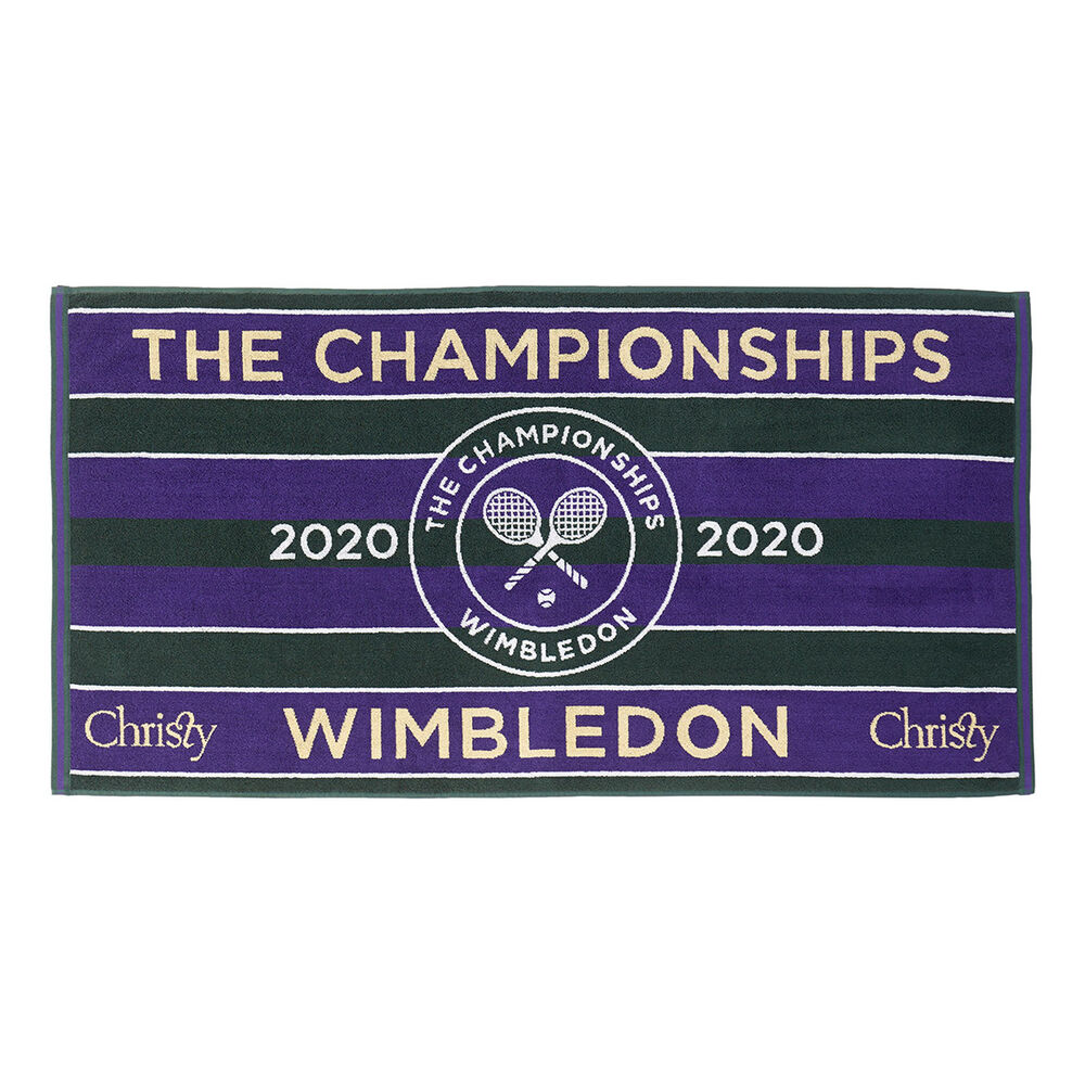 Christy Wimbledon 2020 Championship Herren Handtuch Handtuch Größe: nosize HAN-3