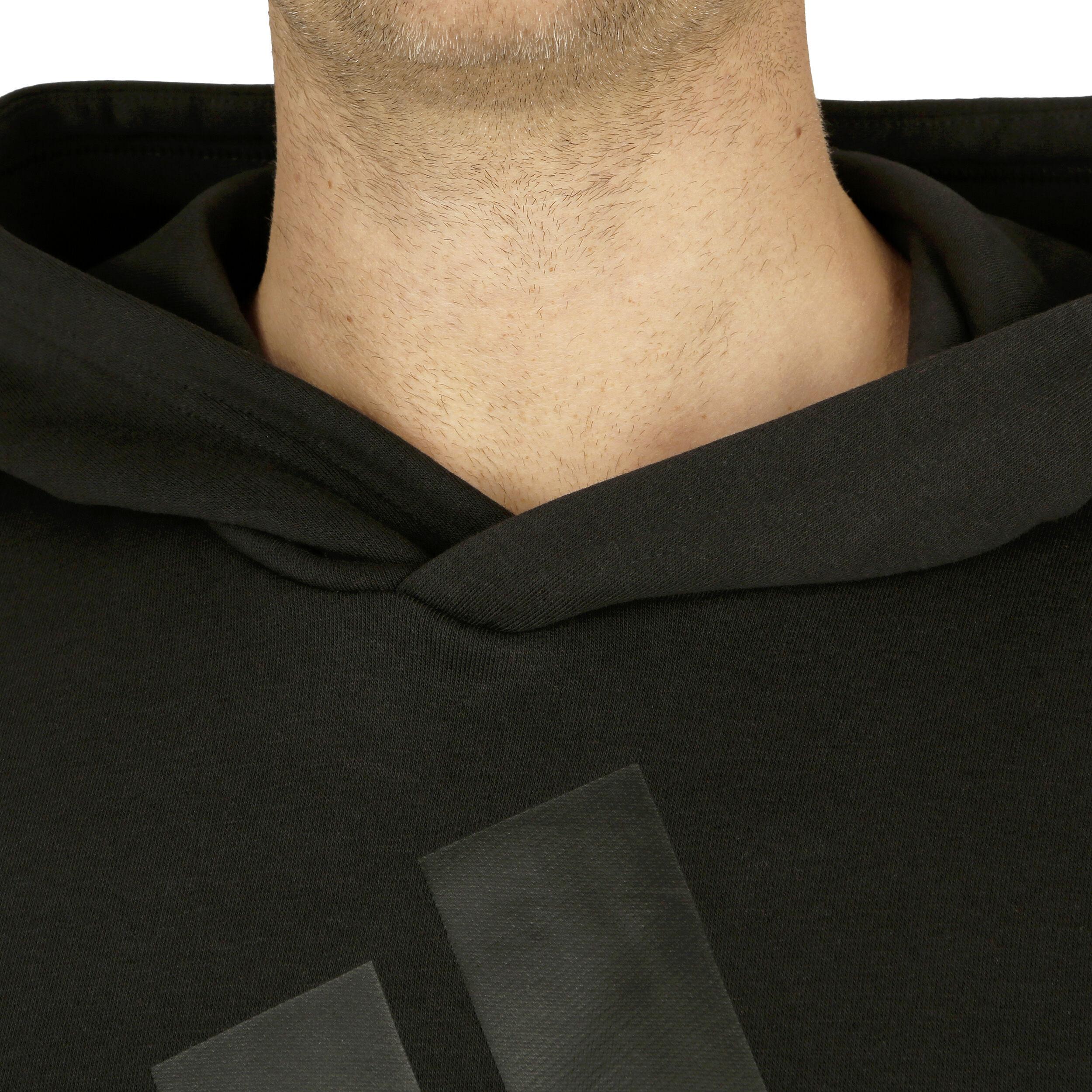adidas Essentials Linear French Terry Hoody Herren Schwarz