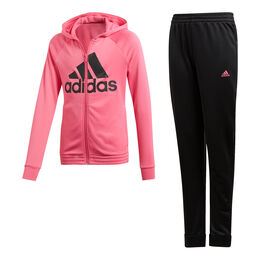 Hooded Polyester Tracksuit Girls