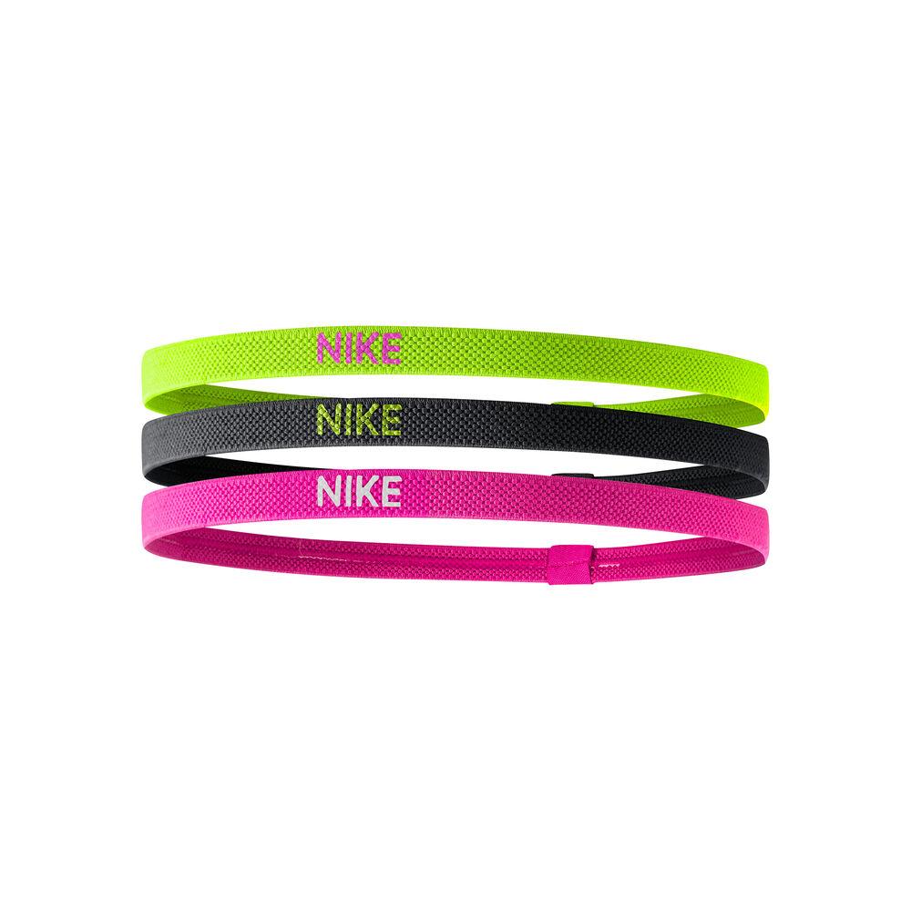 Nike Elastic Haarband 3er Pack Haarband Größe: nosize 9318-4-983