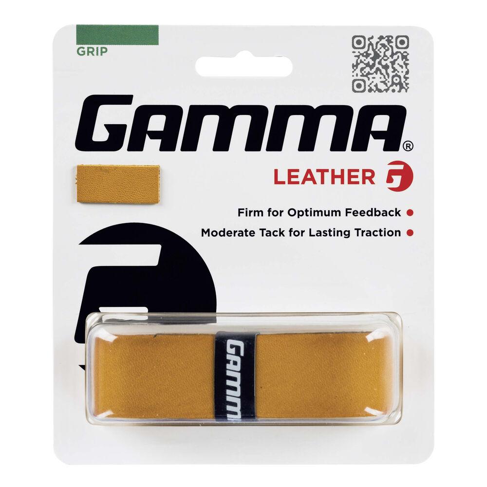 Gamma Leather 1er Pack Tennisbasisgriffband Größe: nosize AGLG-00