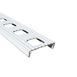 Tigerband - Linie, 5 cm, weiß