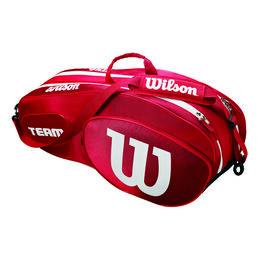 Team III 6er Racket Bag Red