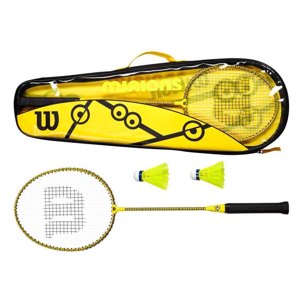 Wilson Minions Badminton Set Badmintonschläger Größe: nosize WR065310F2
