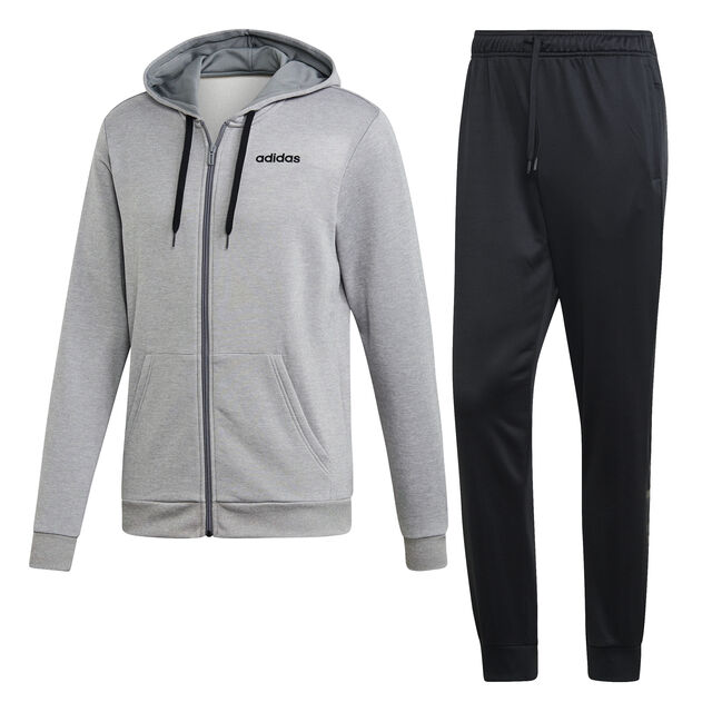 Hooded Linear French Terry Tracksuit Men