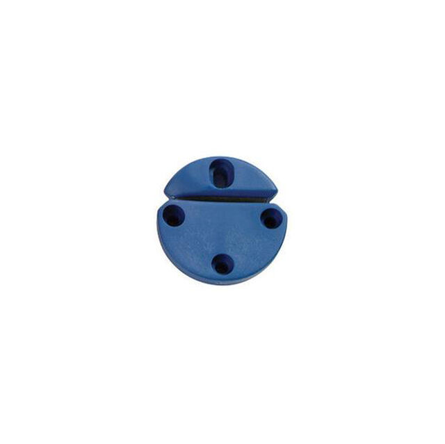 Rundspannkopf blau