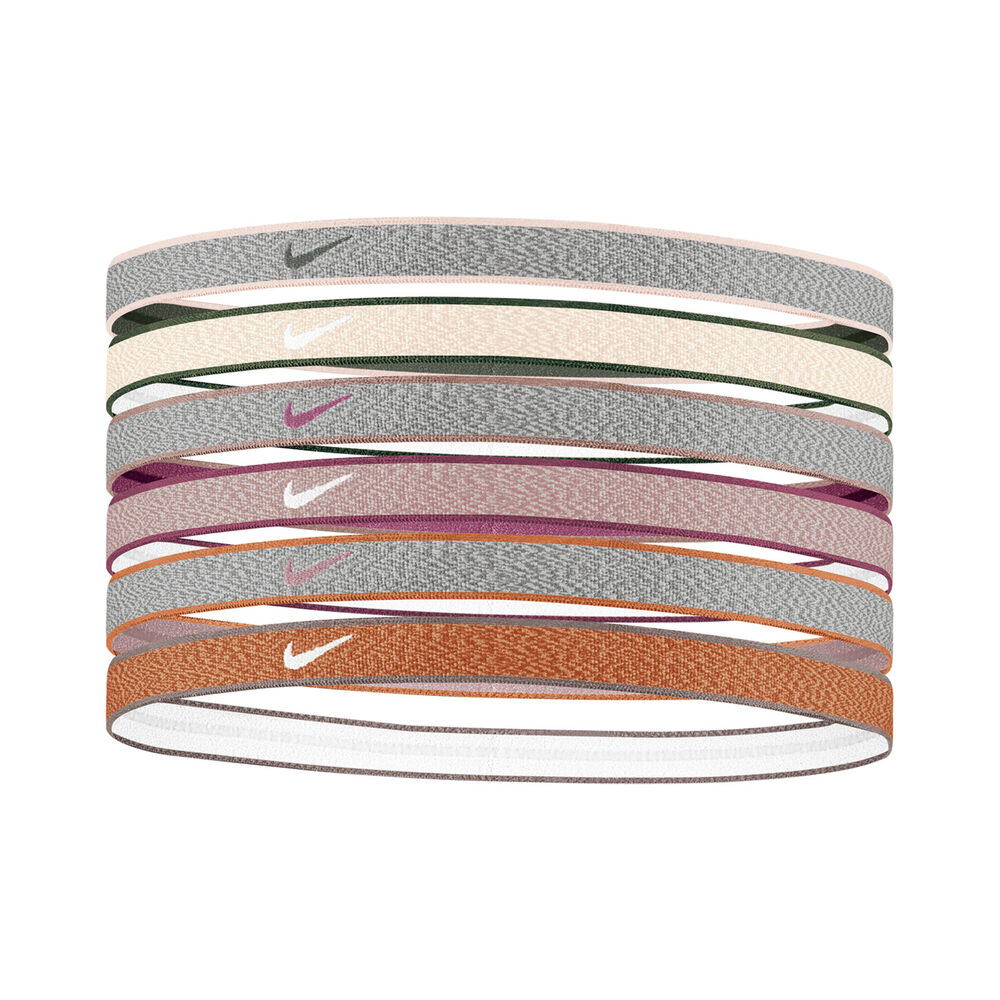 Nike Heathered Haarband 6er Pack Haarband Größe: nosize 9318-85-090