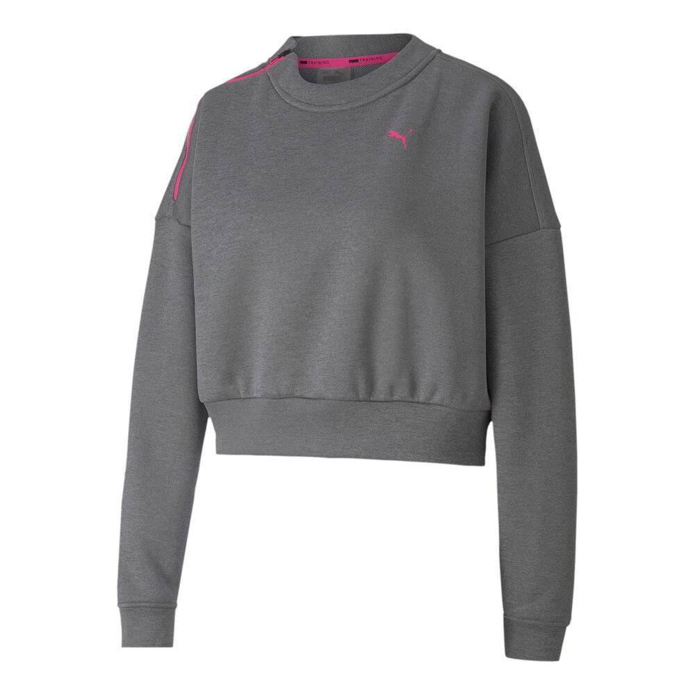 Puma Train Zip Crew Sweatshirt Damen Sweatshirt 519480-02