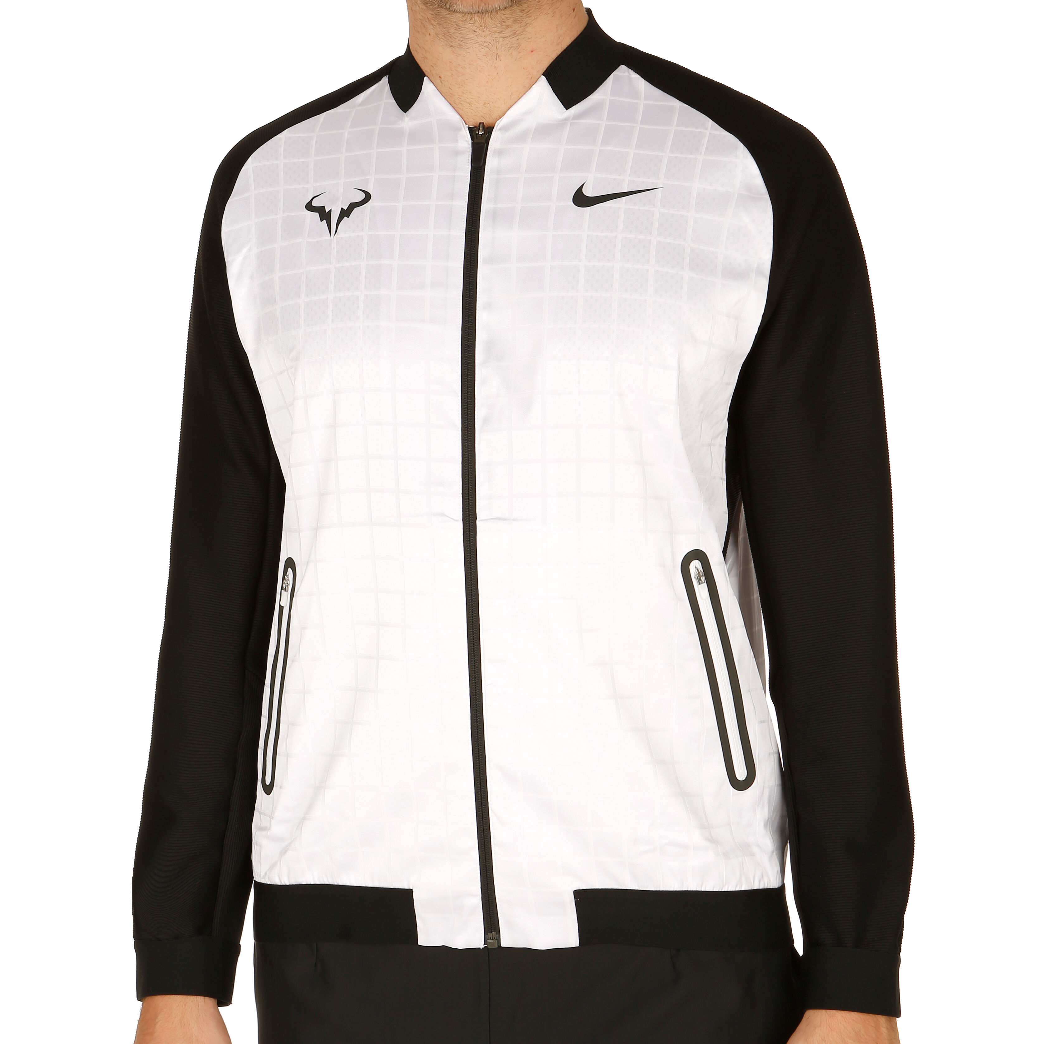 Nike Rafael Nadal Court Premier Trainingsjacke Herren Weiß