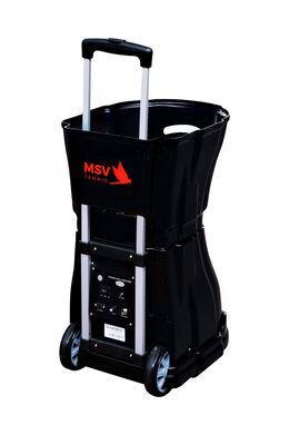 PlayCoach V 150 Tennis Ballmaschine, Lithium-Akku + Netz, mit Fernbedienung