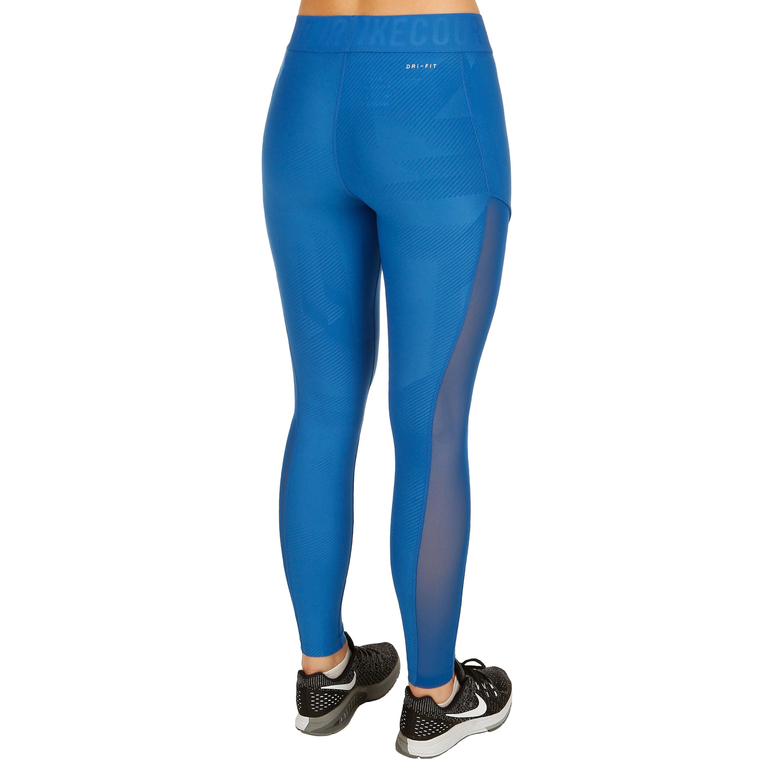 Nike Court Power Tight Damen Blau, Weiß online kaufen