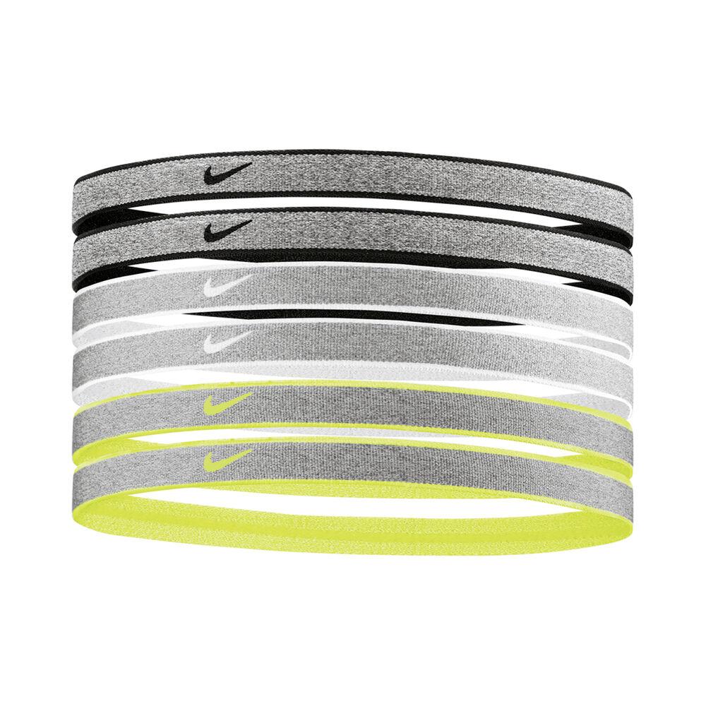 Nike Heathered Haarband 6er Pack Haarband Größe: nosize 9318-85-095