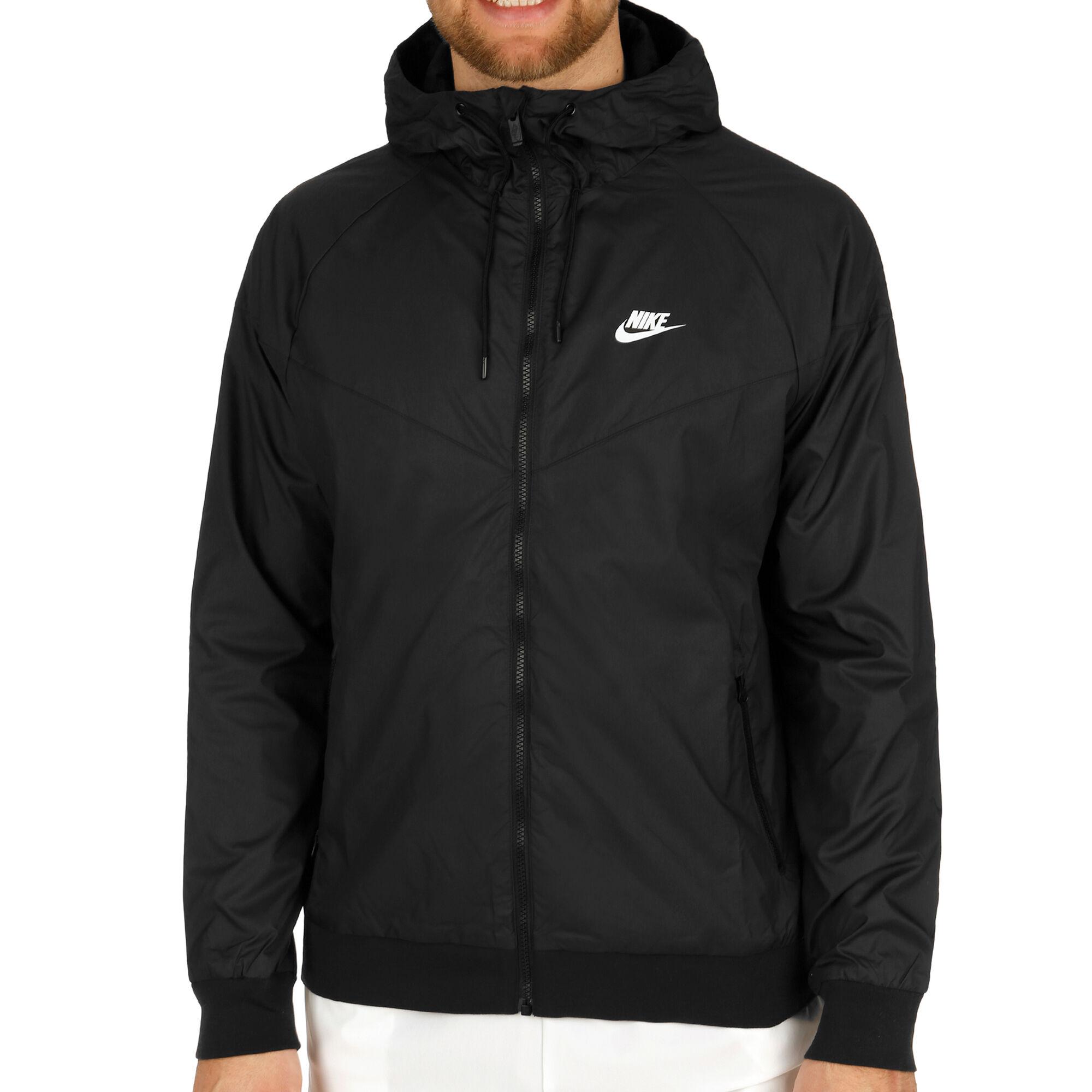 69b25c568929 Nike Sportswear Windrunner Trainingsjacke Herren - Schwarz, Weiß ...
