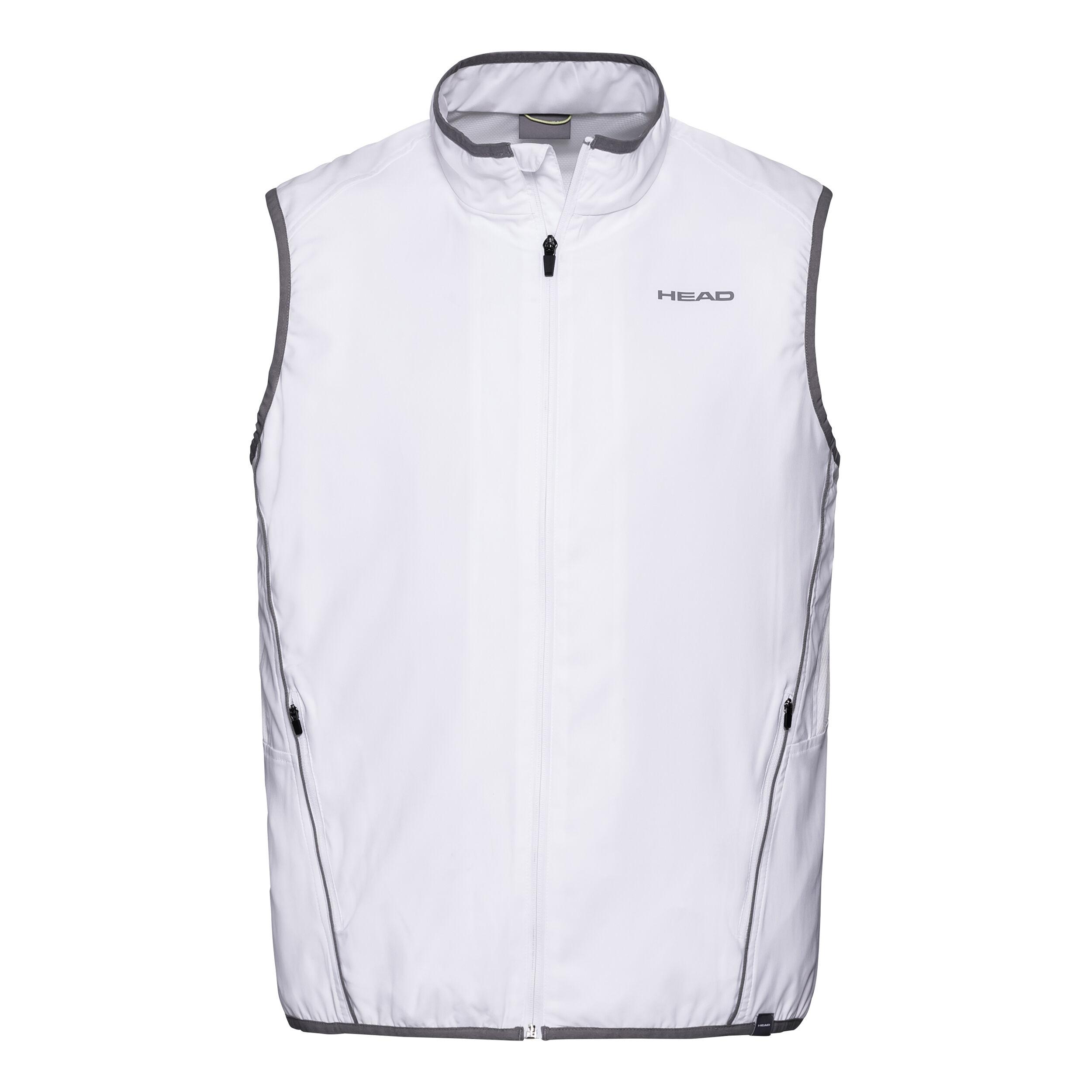 Head Club Vest white 2019 Tennis Herren Weste weiß