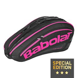 Racket Holder X12 Team pink black (Special Edition)