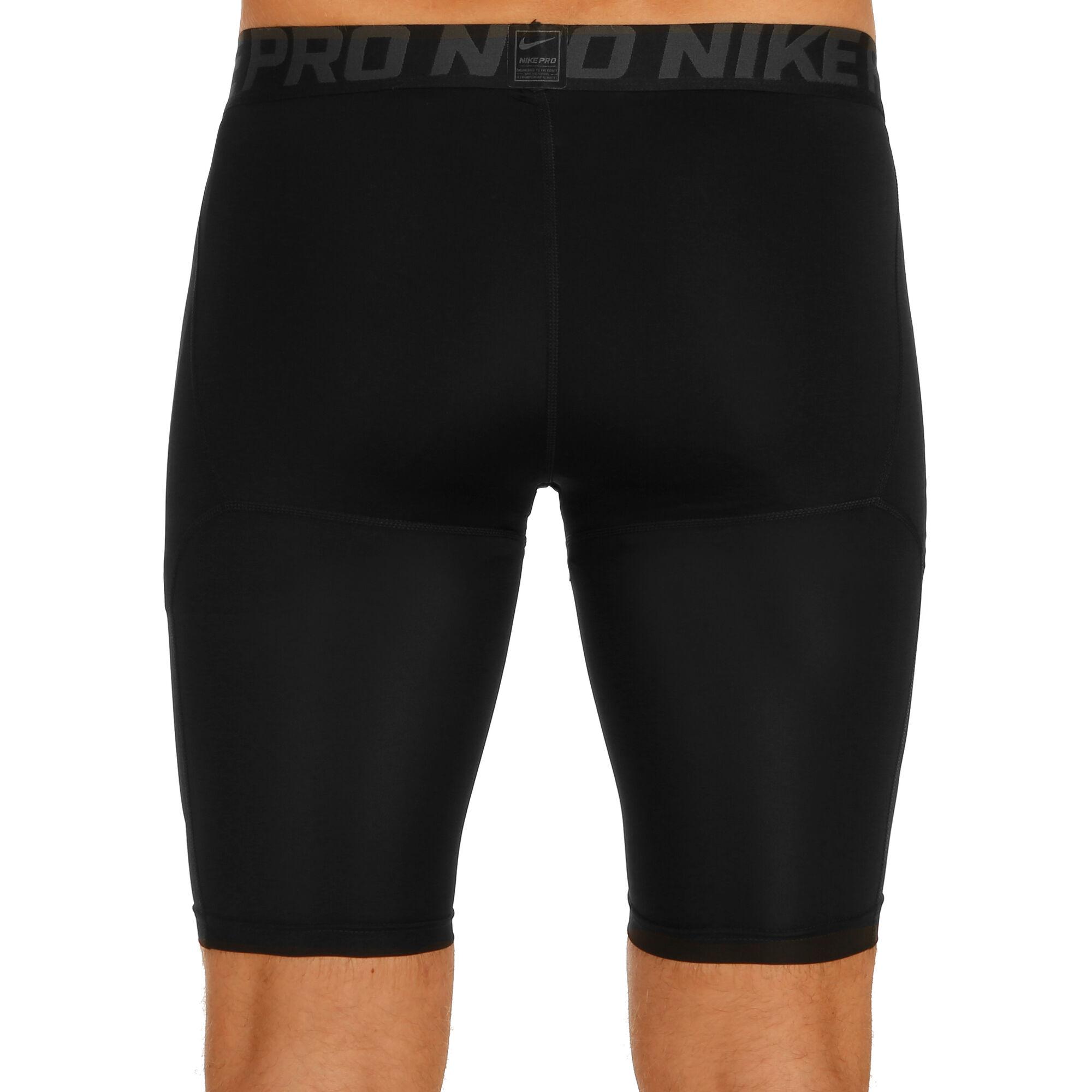 nike pro long shorts herren schwarz dunkelgrau online. Black Bedroom Furniture Sets. Home Design Ideas