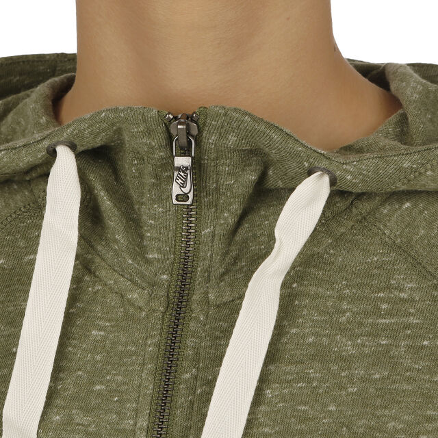 5e25421ea730 Nike Gym Vintage Full-Zip Sweatjacke Damen - Grün, Weiß online ...