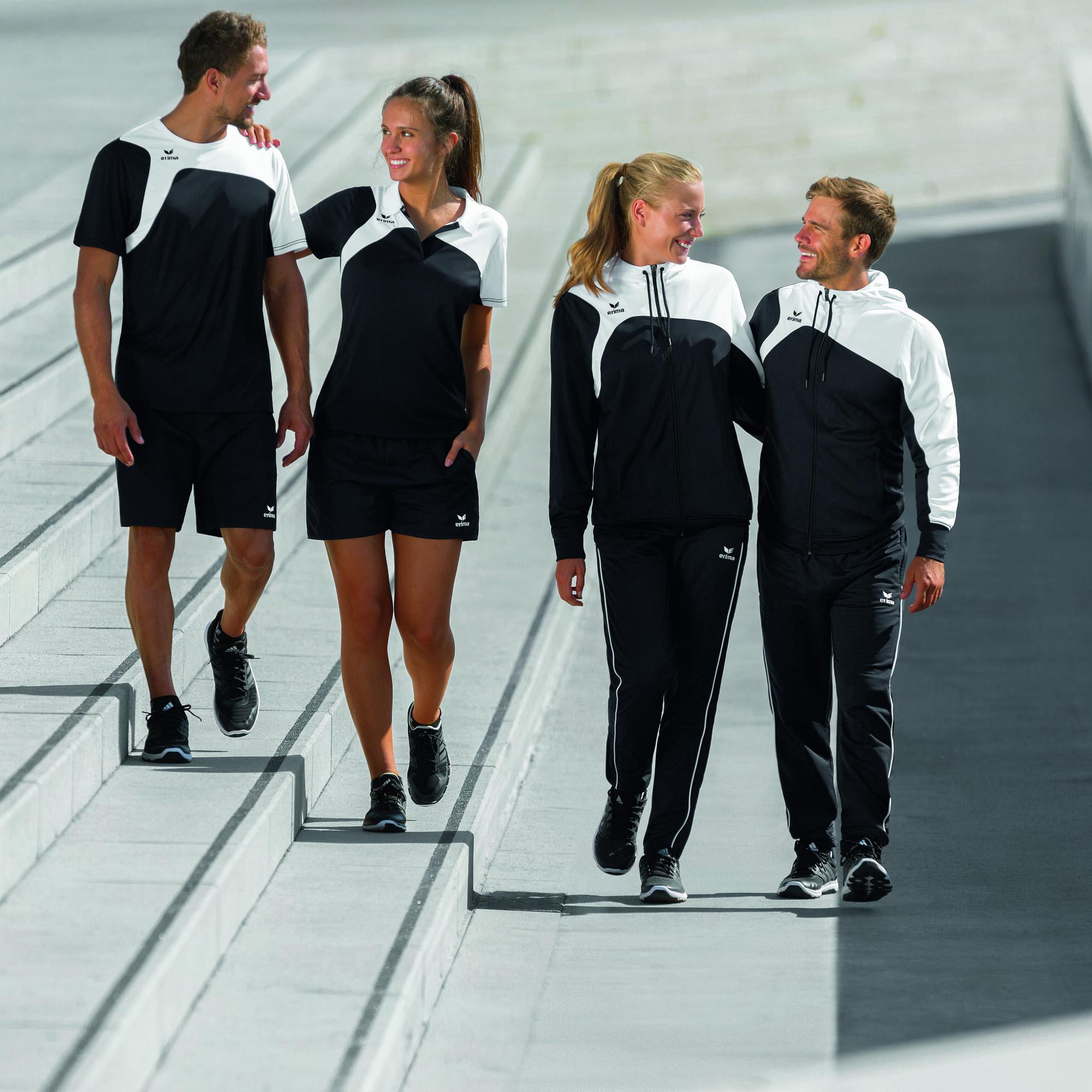 Erima Club 1900 Trainingsjacke Herren - Schwarz, Weiß online kaufen ... cb65714d42