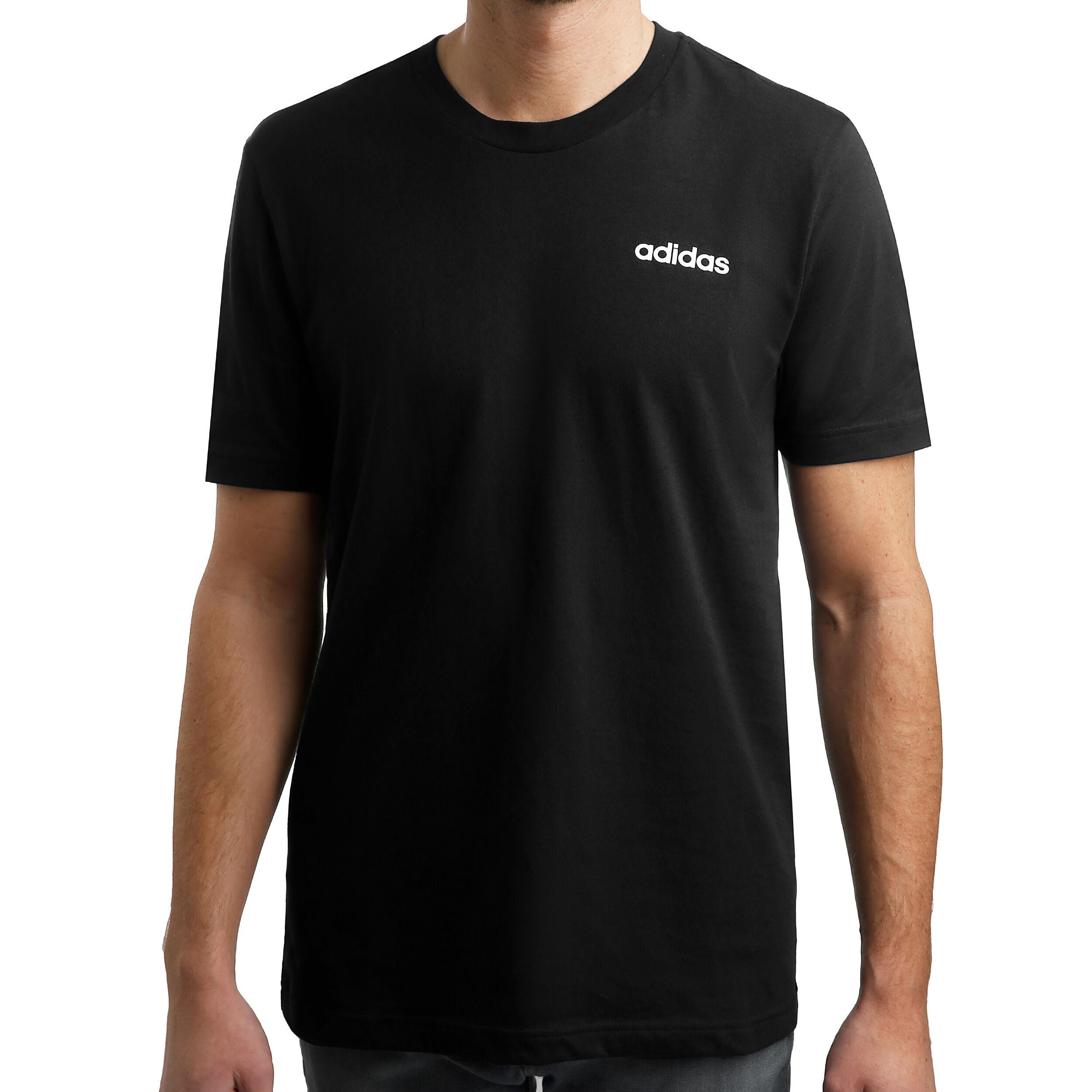 adidas T Shirt Essentials Plain, Baumwolle, für Herren
