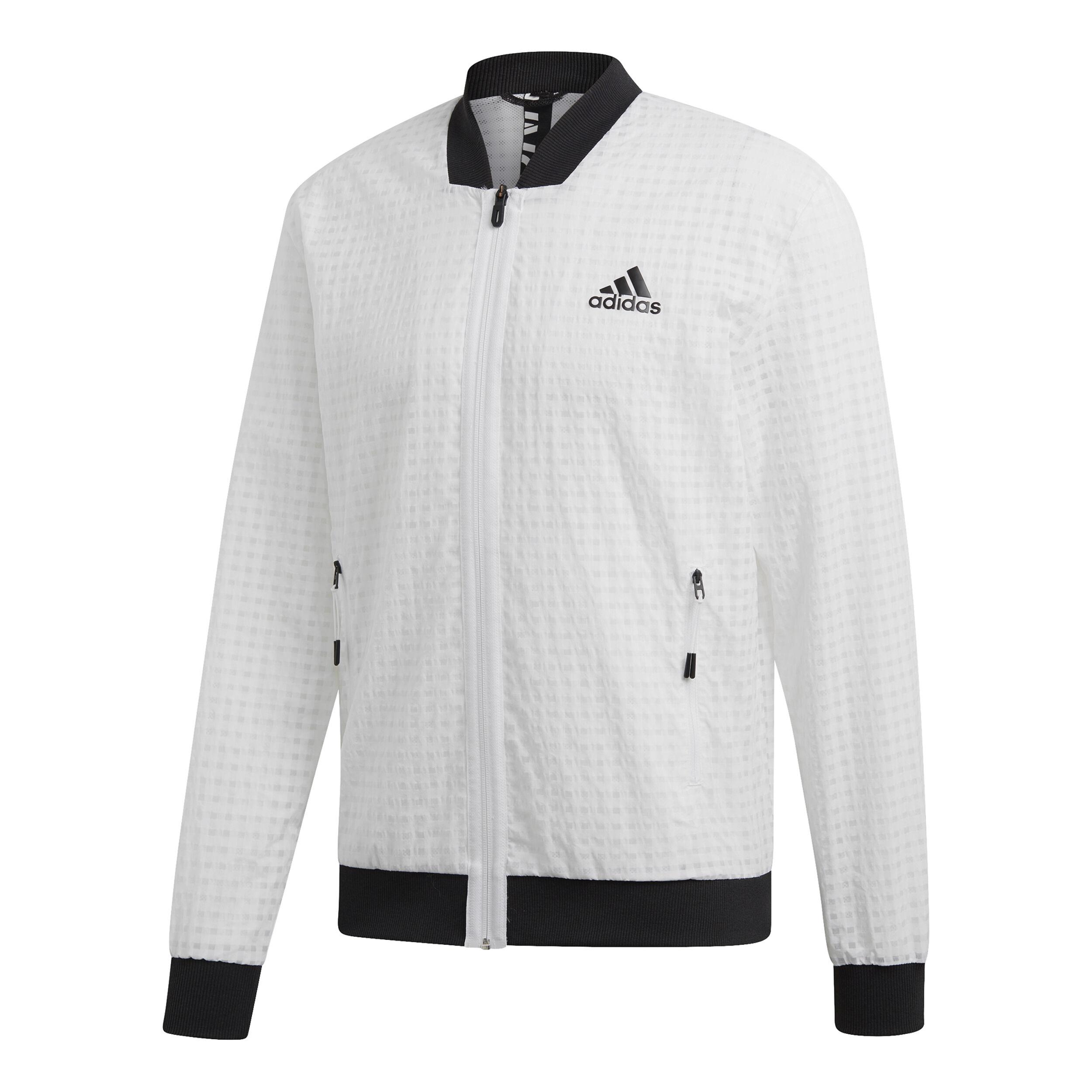 Kaufen Trainingsjacke Online, Weiß Schwarz Trainingsjacke