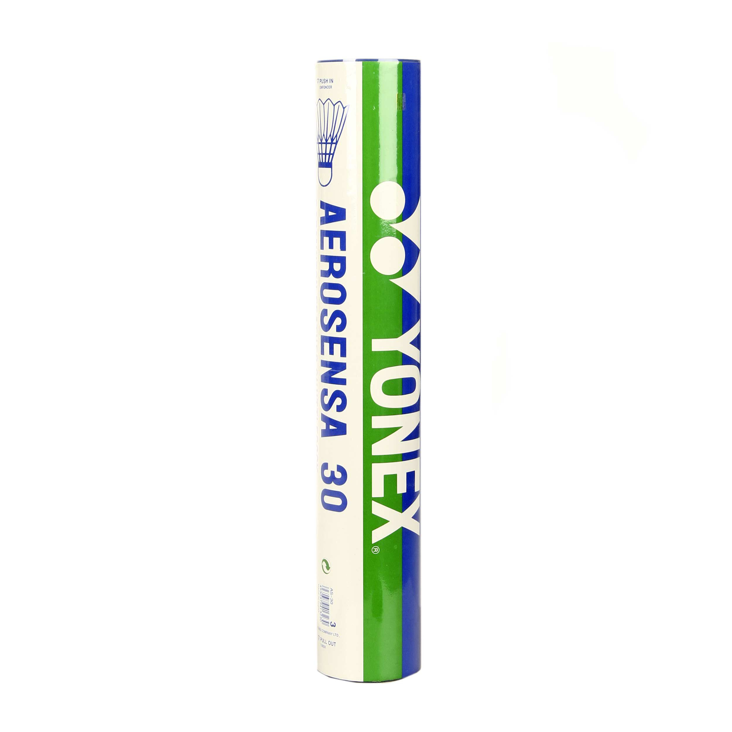 Yonex Aerosensa 30 Naturball 3 Mittel Tennisbälle 12er Pack NEU