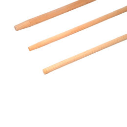 Holzstiel für Linienkehrbesen aus Holz 23mm, 1,40m