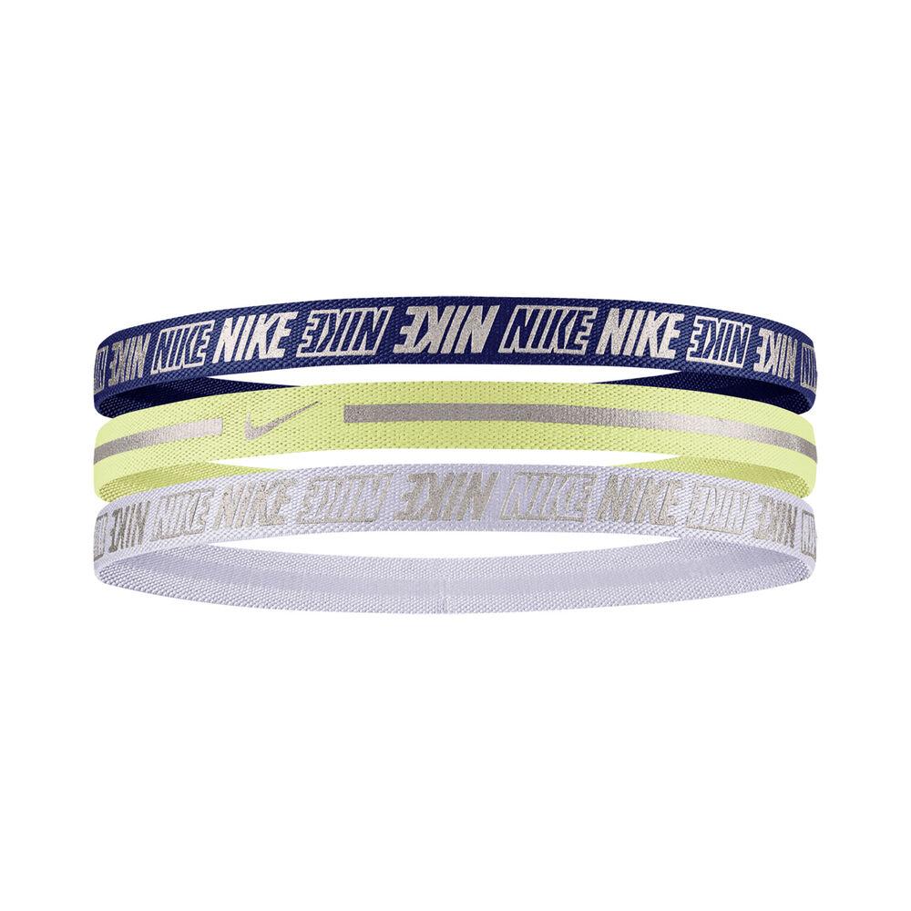 Nike Metallic 2.0 Haarband 3er Pack Haarband Größe: nosize 9318-53-983