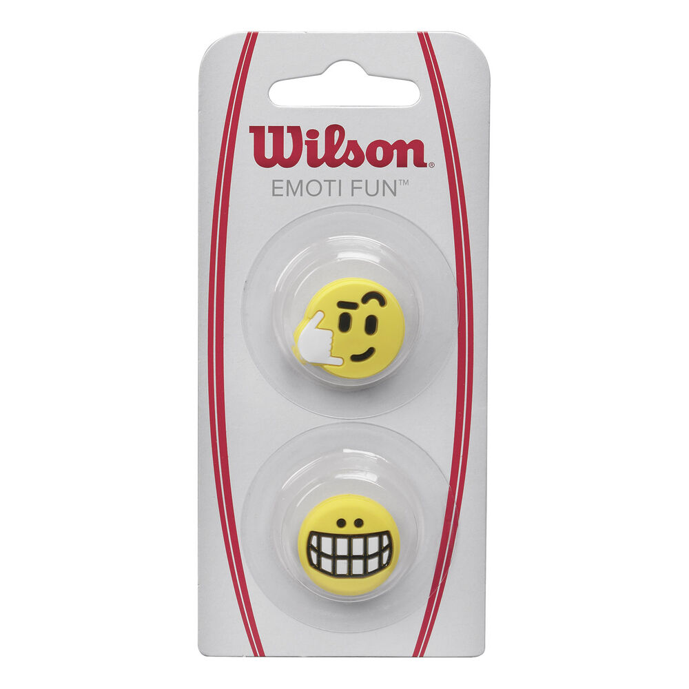Wilson Emoti-Fun Big Smile / Call Me Dämpfer 2er Pack Dämpfer Größe: nosize WRZ538600