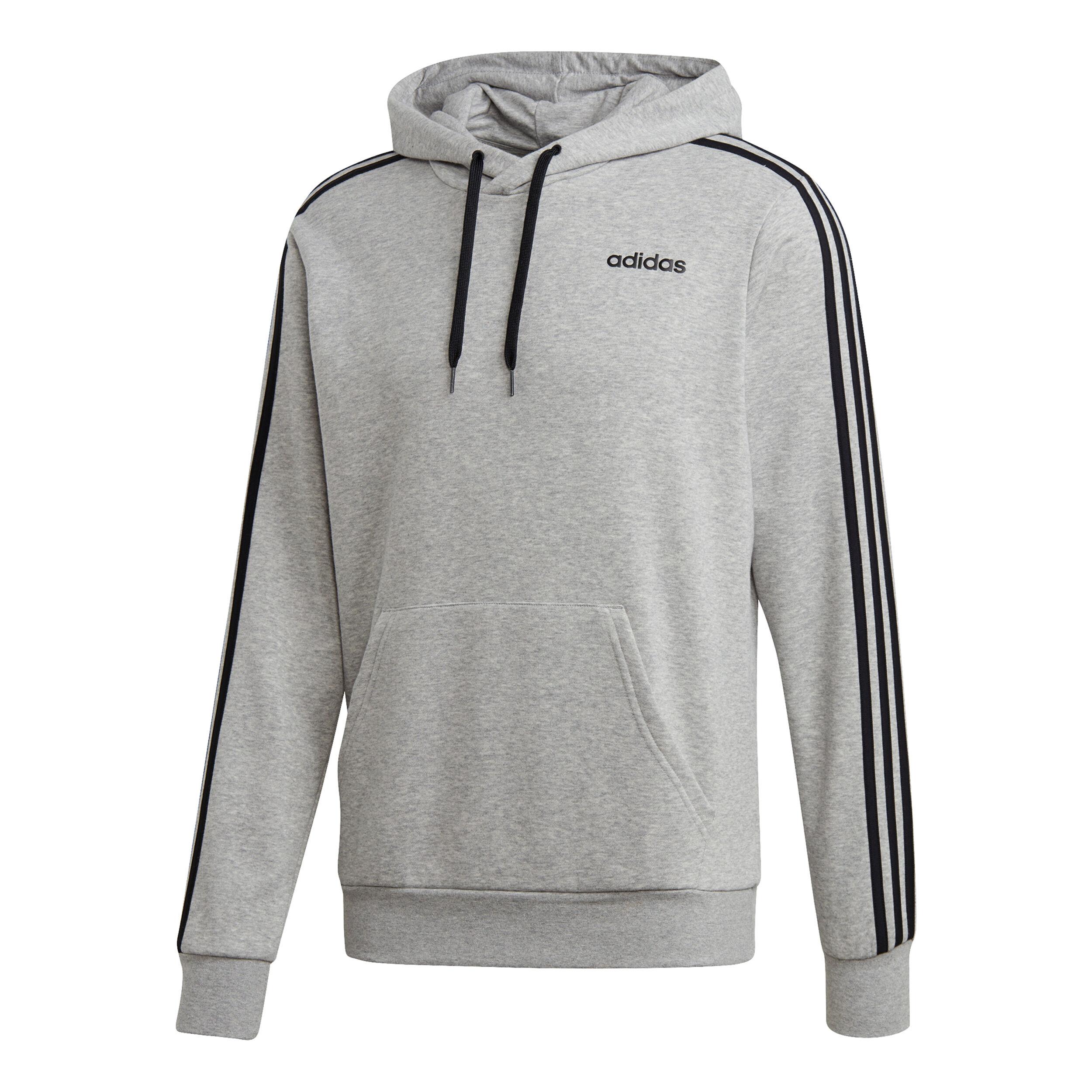 ADIDAS Herren Sweater Essentials 3 Streifen grau | S