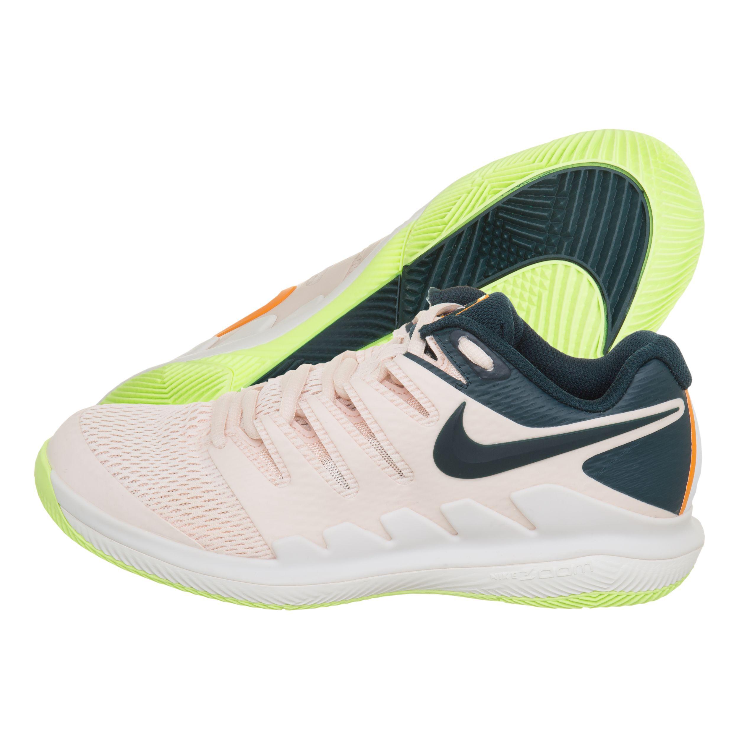 Nike Air Zoom Vapor X Allcourtschuh Damen Apricot, Dunkelblau