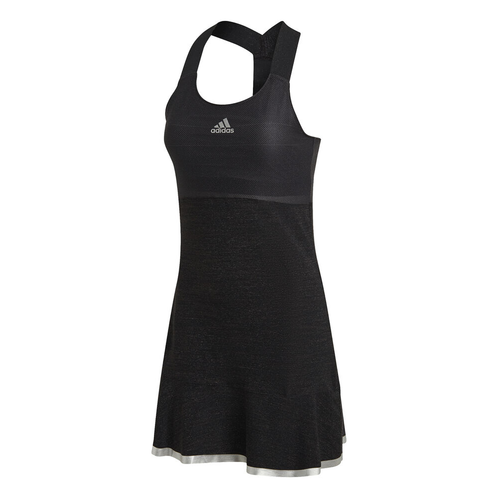 adidas Glam On Y Glitzer Kleid Damen Kleid Größe: XS FT6421